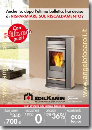 Angelo focaroli rieti materiali edili idraulica riscaldamento - Stufe a pellet edilkamin catalogo ...